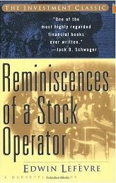 Remenisses of a Stock Operator